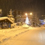 Sauze d'Oulx notturna d'inverno