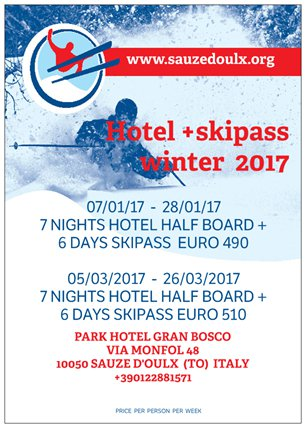 hotel + skipass GB individuali 2017. 2